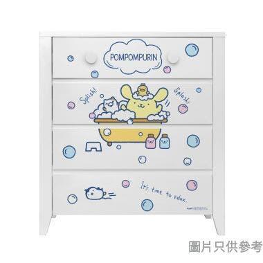 Sanrio CTD-CH01 四桶儲物櫃 布甸狗-C