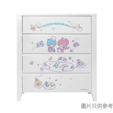Sanrio CTD-CH01 四桶儲物櫃 Little Twin Stars-C