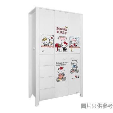 Sanrio CTD-WB0147 47吋五門四櫃桶衣櫃 Hello Kitty-C