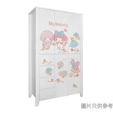 Sanrio CTD-WB0147 47吋五門四櫃桶衣櫃 My Melody-A
