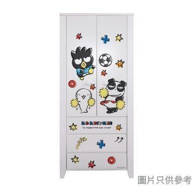 Sanrio CTD-WB0236 36吋雙門三櫃桶衣櫃  XO-B