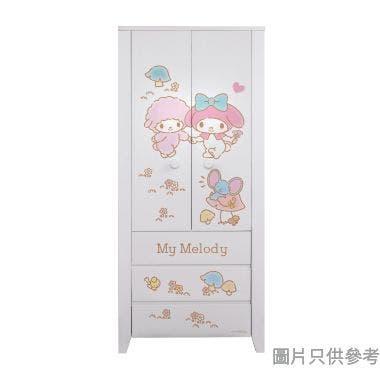 Sanrio CTD-WB0236 36吋雙門三櫃桶衣櫃  My Melody-A