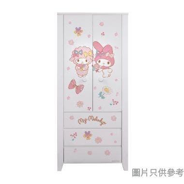 Sanrio CTD-WB0236 36吋雙門三櫃桶衣櫃  My Melody-B