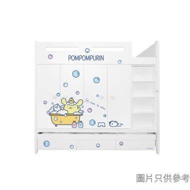 Sanrio CTD-WB01 多功能組合床(七櫃桶,子床及衣櫃) 布甸狗-C  (面向計右面梯)