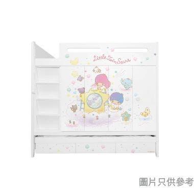 Sanrio CTD-WB01 多功能組合床(七櫃桶,子床及衣櫃) Little Twin Stars-B  (面向計左面梯)