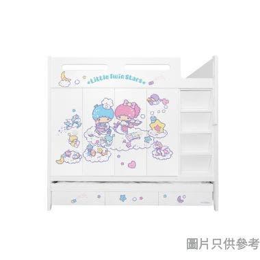 Sanrio CTD-WB01 多功能組合床(七櫃桶,子床及衣櫃) Little Twin Stars-C   (面向計右面梯)