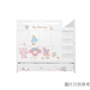 Sanrio CTD-WB01 多功能組合床(七櫃桶,子床及衣櫃) My Melody-A (面向計右面梯)