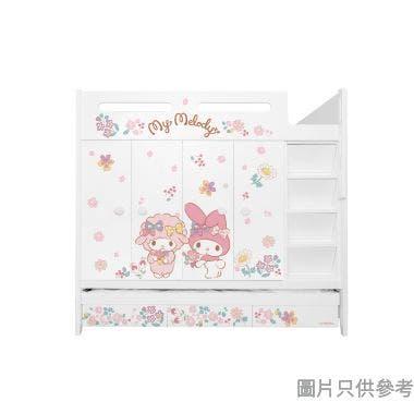 Sanrio CTD-WB01 多功能組合床(七櫃桶,子床及衣櫃) My Melody-B (面向計右面梯)