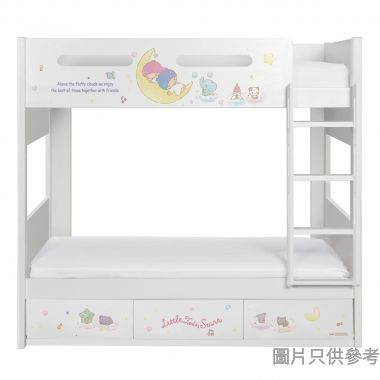 Sanrio CTD-BB03 雙層床配三櫃桶 - Little Twin Stars-B (面向計右樓梯)