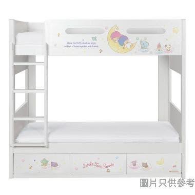 Sanrio CTD-BB03 雙層床配三櫃桶 - Little Twin Stars-B (面向計左樓梯)