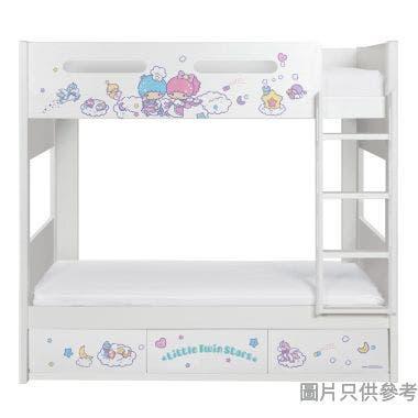 Sanrio CTD-BB03 雙層床配三櫃桶 - Little Twin Stars-C (面向計右樓梯)