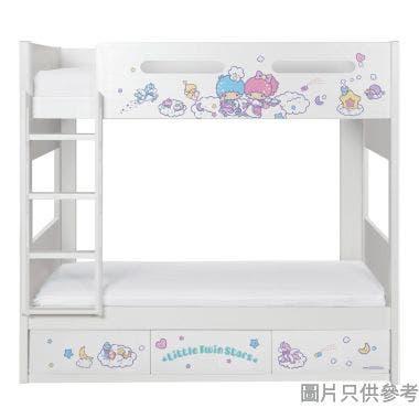 Sanrio CTD-BB03 雙層床配三櫃桶 - Little Twin Stars-C (面向計左樓梯)