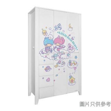 Sanrio CTD-WB0147 47吋五門四櫃桶衣櫃 Little Twin Stars-C